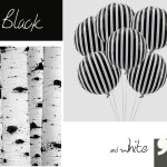 Black and white y decora