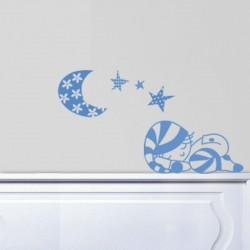 Vinilos para bebé buenas noches, pijama