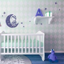 decoracion pared infantil