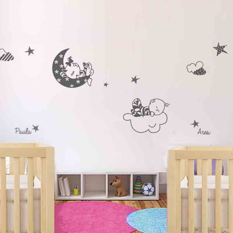 Vinilos para bebes baratos moderno koala ramas de rbol for Stickers pared baratos