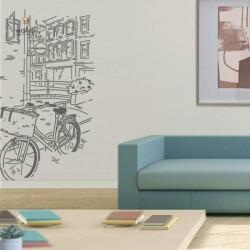 Vinil urbà Bicicleta