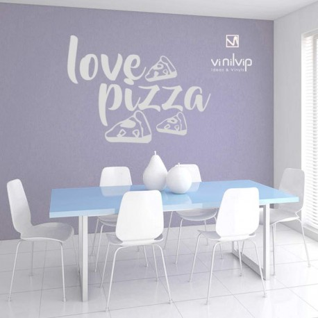 Vinilo love pizza