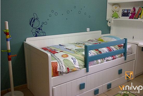 Compartiendo momentazos vinilvip - Habitaciones infantiles compartidas ...