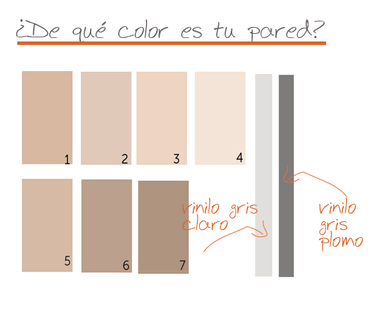 Elegir el color del vinilo infantil para tu pared vinilvip for Color arena para paredes