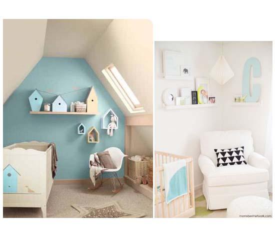 Decoraciones beb ideas para inspirarte vinilvip - Decoraciones para bebes ...
