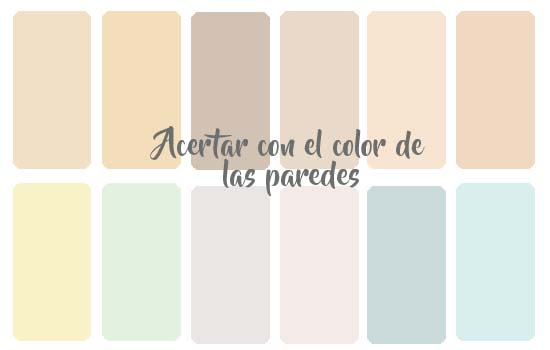Colores para pintar las habitaciones beb vinilvip for Pintura pared color vison